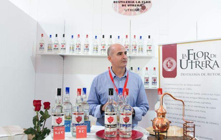 «La flor de Utrera», presente en la Feria de Vinos y Licores de la Provincia