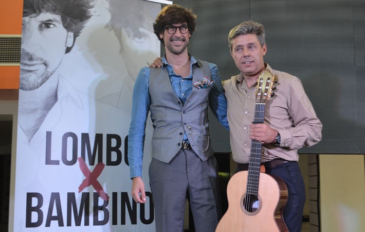 Utrera, protagonista indiscutible del disco «Lombo por Bambino» (VÍDEO)