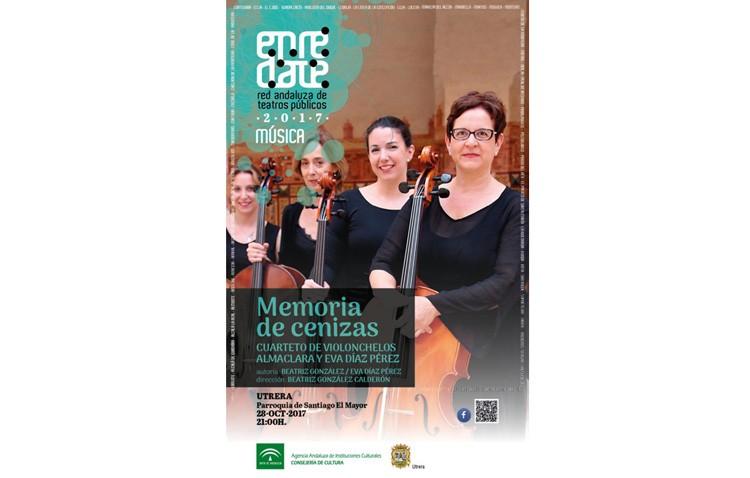 La parroquia Santiago acoge un espectáculo de literatura y música con «Memoria de cenizas»