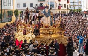 El paso perteneció a la hermandad de la Cena, de Huelva