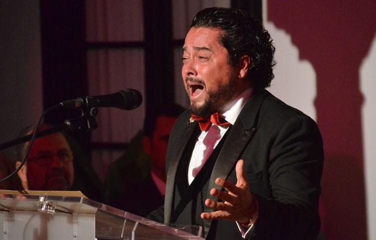 Noche flamenca con Rafael de Utrera en el teatro «Enrique de la Cuadra»