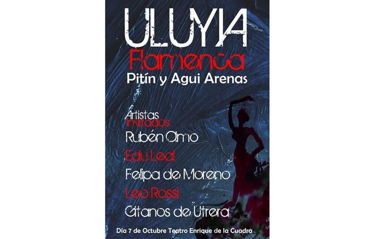 Espectáculo flamenco en el teatro con Pitín y Agui Arenas