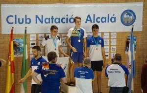 Plata Juan Carlos 100m mariposa
