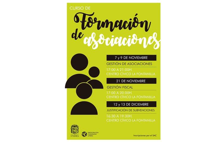 Participación Ciudadana organiza sendos cursos de gestión de asociaciones y gestión fiscal