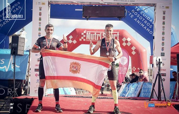 El club «Deporteando por Utrera» participa en el Trail Maratón Doñana