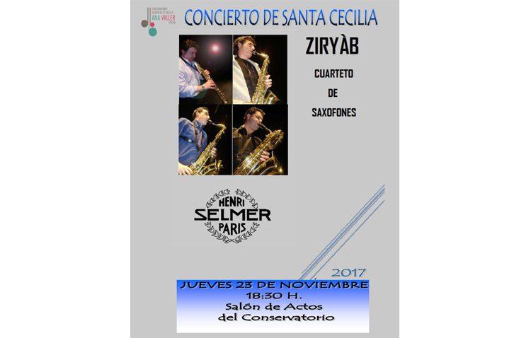 Un concierto en el conservatorio de música de Utrera para celebrar el día de Santa Cecilia