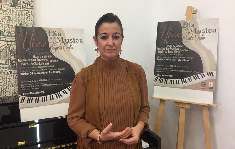 Fin de semana de pianos y actuaciones musicales para celebrar en Utrera el día de Santa Cecilia