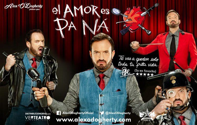 Noche de risas en el teatro de Utrera con Alex O'Dogherty