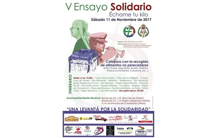 La hermandad de los Gitanos organiza su quinto «Ensayo solidario» para recoger alimentos por las calles de Utrera