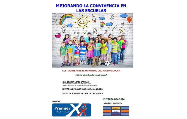 Premier School of English organiza una jornada sobre acoso escolar