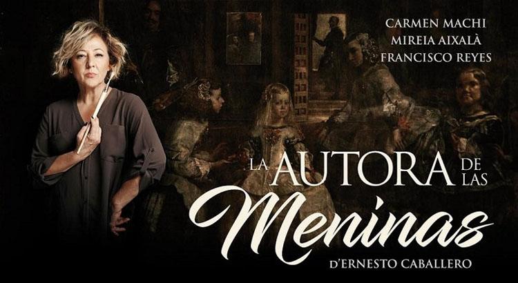 «La autora de las Meninas», en el teatro de Utrera con Carmen Machi