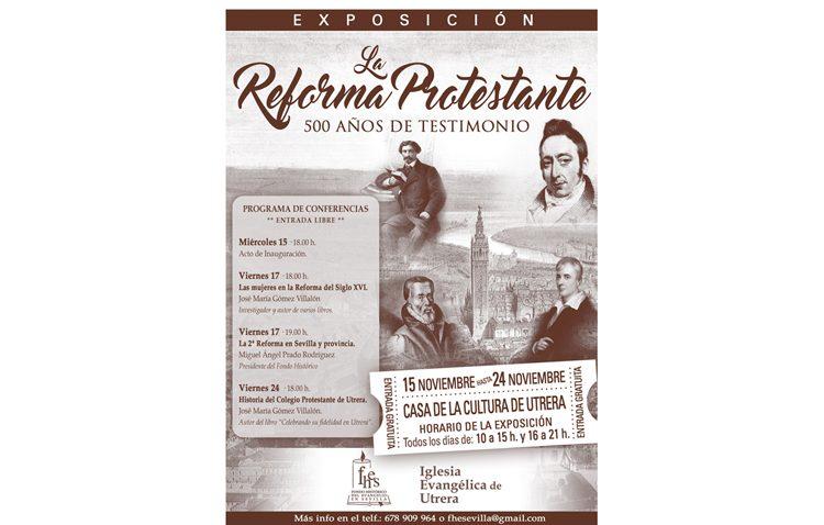 Un ciclo cultural para conmemorar en Utrera los 500 años de la reforma protestante