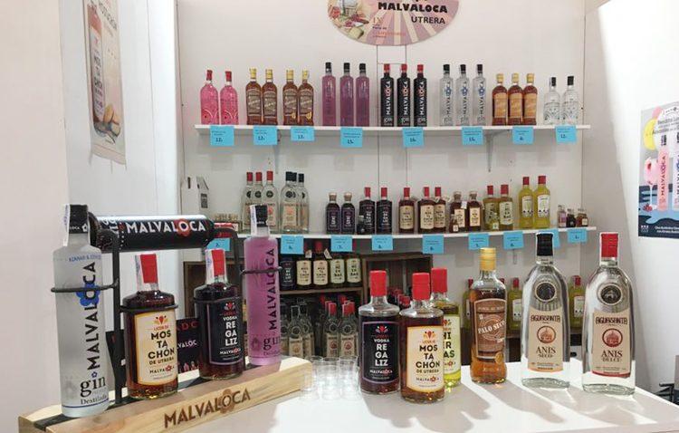 La empresa utrerana Malvaloca, presente en la feria provincial de gastronomía y artesanía