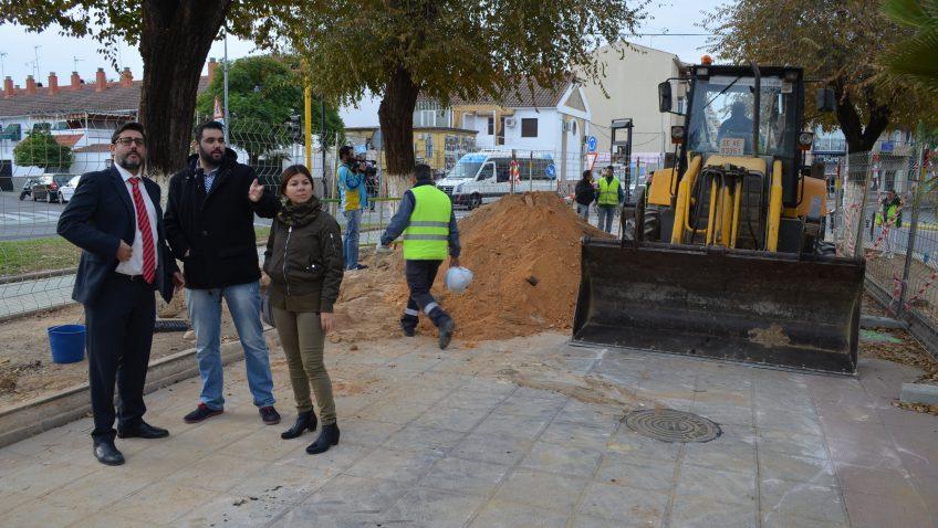 Villalobos insiste en su proyecto faraónico para el paseo de Consolación, que costará 2,3 millones de euros y eliminará más de 120 aparcamientos