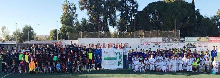 La Escuela Municipal de Fútbol se suma a la protección del menor