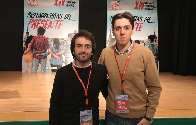 Dos utreranos en los órganos provinciales de Juventudes Socialistas