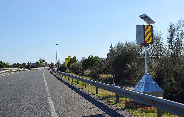 Un nuevo radar a la entrada de Utrera para acabar con un «punto negro» de accidentes de tráfico