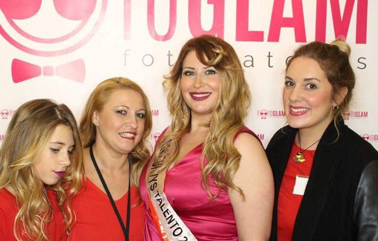 La utrerana Sandra Segovia, elegida «Miss Curvys Talento España»