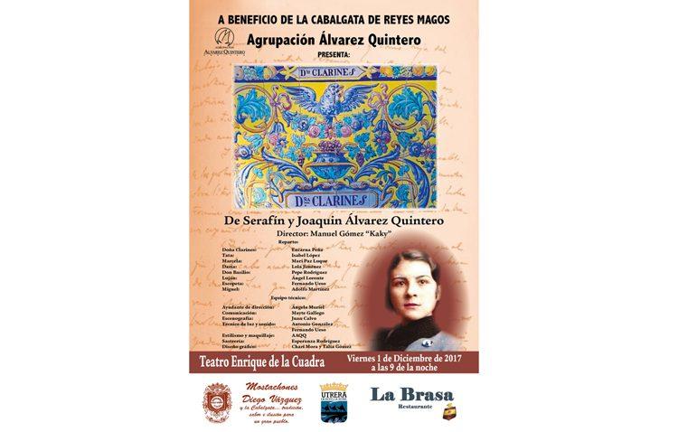 Teatro de los Álvarez Quintero para colaborar con la cabalgata de los Reyes Magos de Utrera