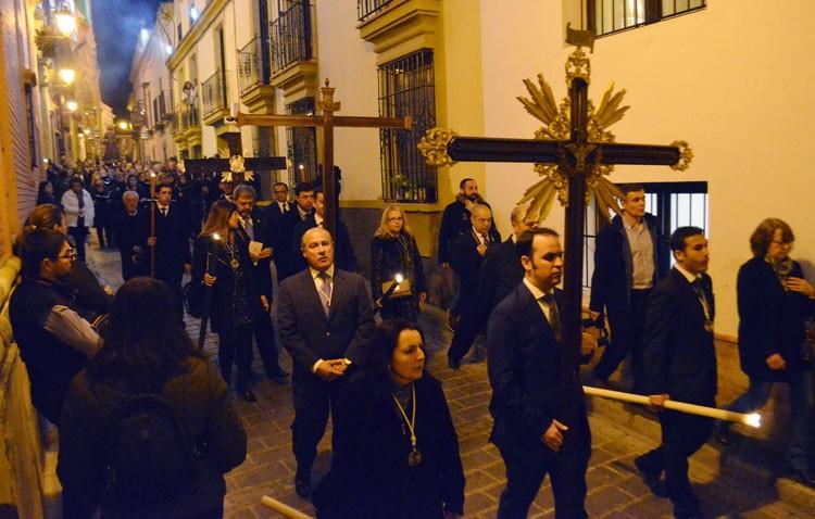 El Consejo de Hermandades cambia la fecha del vía crucis de Cuaresma y elimina las cruces de guía del cortejo
