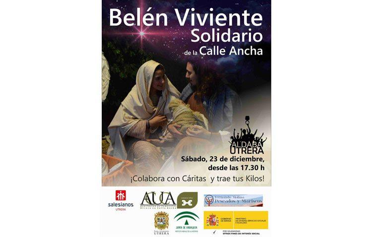 Nueva edición del belén viviente solidario de Aldaba