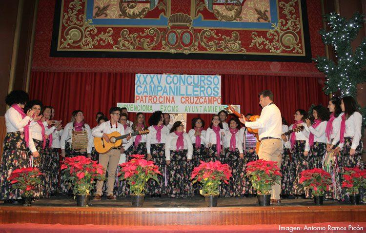 Un coro de Lebrija, ganador del concurso de campanilleros