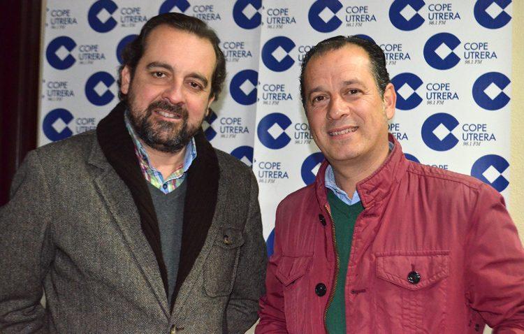 David Gutiérrez y Enrique Casellas, pregoneros de la Navidad en Utrera
