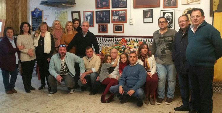 Gran éxito de la zambomba solidaria de la peña «Curro de Utrera»