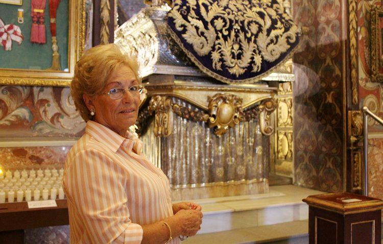 Rosario García, la guardiana de los secretos del santuario de Consolación