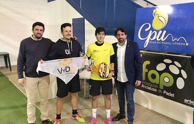 Éxito de participación en el Campeonato Provincial Absoluto de Pádel