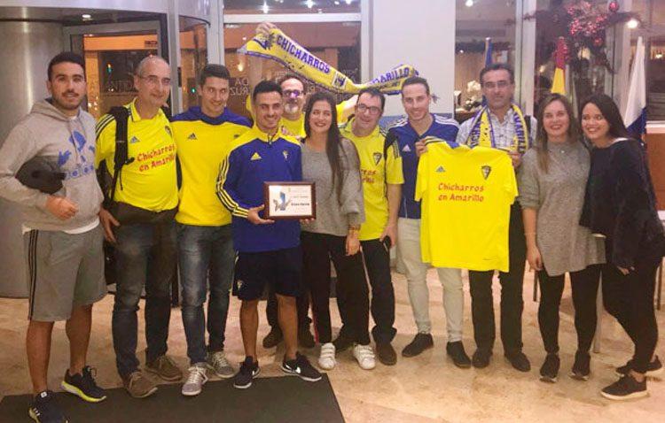 El futbolista utrerano Álvaro García suma otro premio a su vitrina