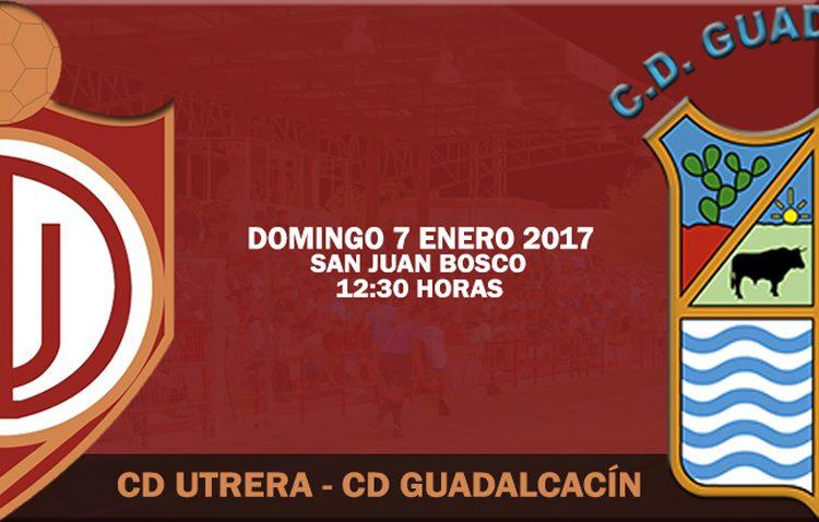 C.D. UTRERA – GUADALCACÍN  C.F.: El Utrera inicia la segunda vuelta