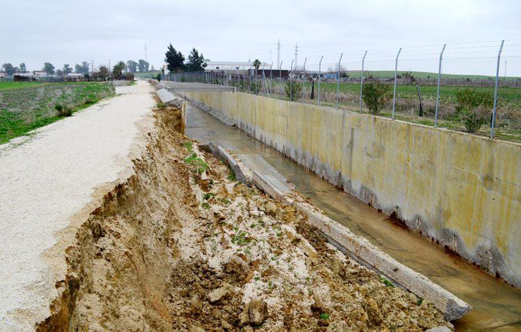 Los temores se cumplen: se derrumban los 20 metros del desvío del Calzas Anchas que estaban agrietados