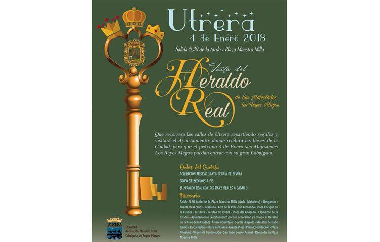 El Heraldo Real anuncia este jueves la llegada de los Reyes Magos a Utrera
