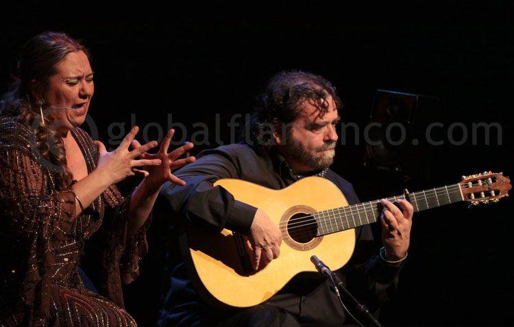 La cantaora utrerana Mari Peña brilló en el festival flamenco de Nîmes