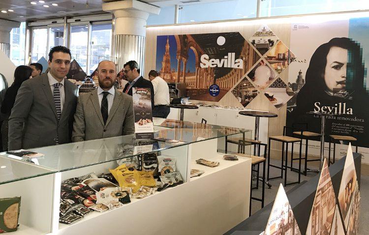 La empresa utrerana Panadería Obando, presente en Fitur y «Madrid Fusión»