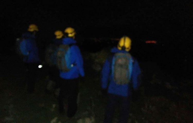 Rescatado un senderista utrerano en el parque natural Sierra de Grazalema