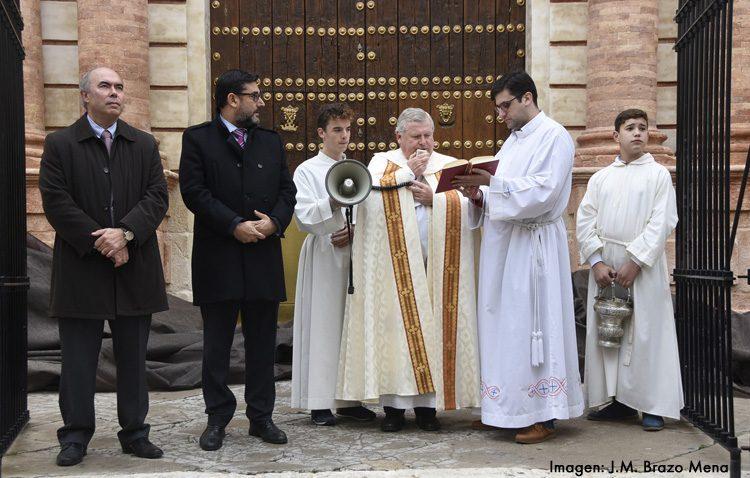 La magnífica restauración de la puerta del Sol de Santa María devuelve el esplendor a su fachada y descubre elementos desconocidos
