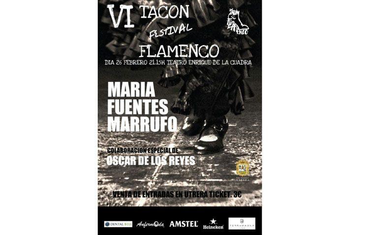 Baile flamenco de Utrera en la segunda jornada del «Tacón Flamenco»