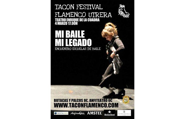 «Mi baile, mi legado» pone el cierre a la sexta edición del «Tacón Flamenco»