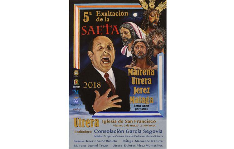 La iglesia de San Francisco acoge este año la exaltación de la saeta, junto a Málaga, Jerez de la Frontera y Mairena del Alcor