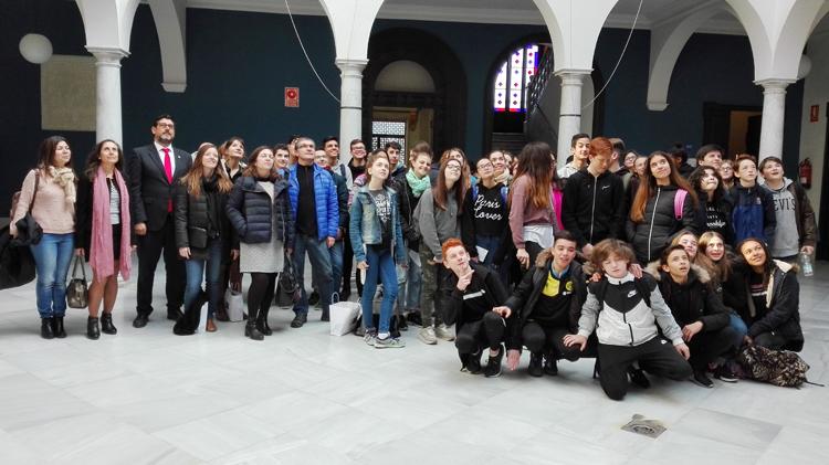 El instituto Virgen de Consolación protagoniza un intercambio lingüístico con Francia
