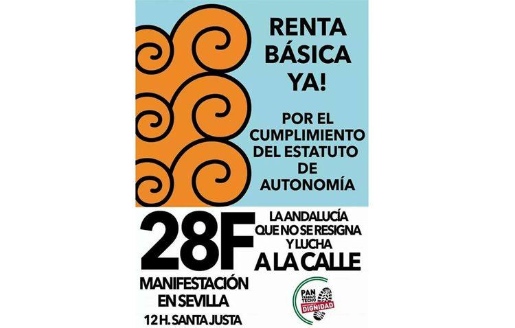 La ruta «Caminantes por la renta básica» marchará desde Utrera a Sevilla