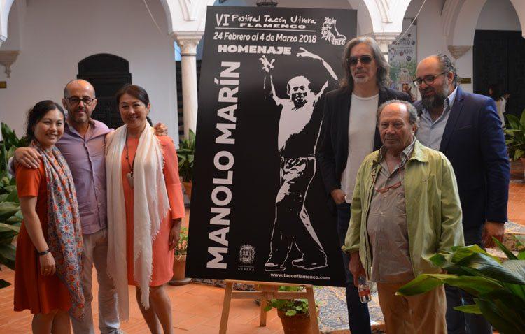 Todo listo para el «Tacón Flamenco», que este año rendirá homenaje al coreógrafo Manolo Marín
