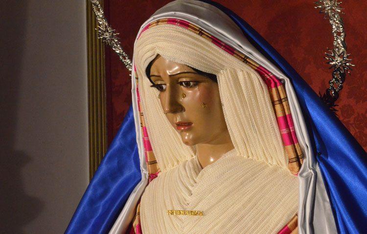 La Virgen de la Esperanza será retirada al culto para su restauración