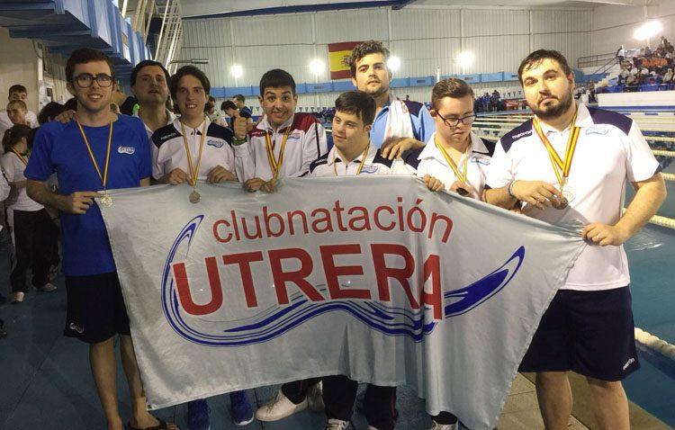 El Club Natación Utrera consigue cinco medallas en el Campeonato de España para Personas con Discapacidad Intelectual