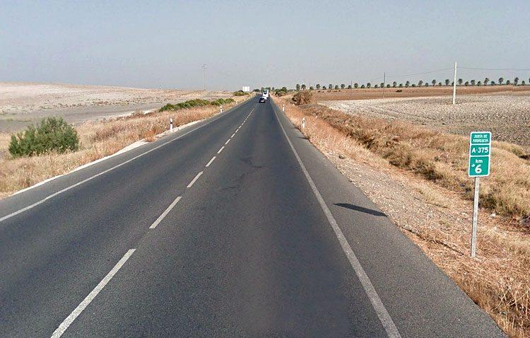 Reclaman el desdoble de la carretera Utrera-Puerto Serrano (A-375)