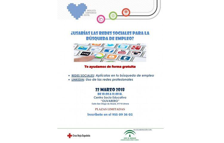 «Andalucía Compromiso Digital» ofrece en Utrera una jornada para la búsqueda de empleo a través de las redes sociales