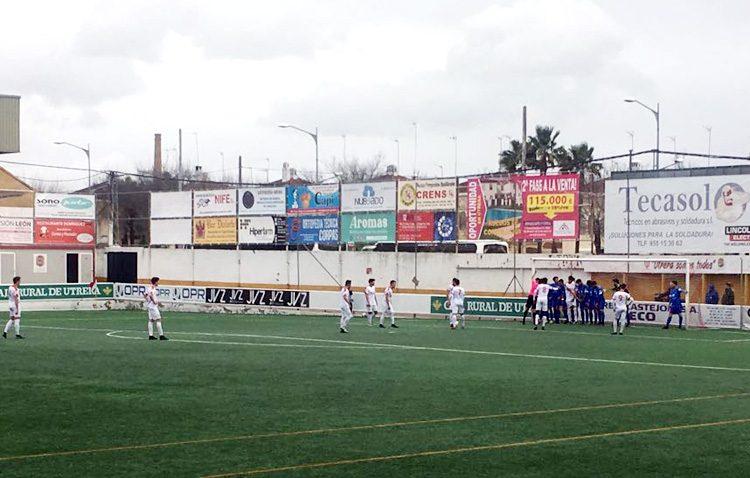 C.D. UTRERA 0 – 1 XEREZ CD: Buen fútbol y poco premio