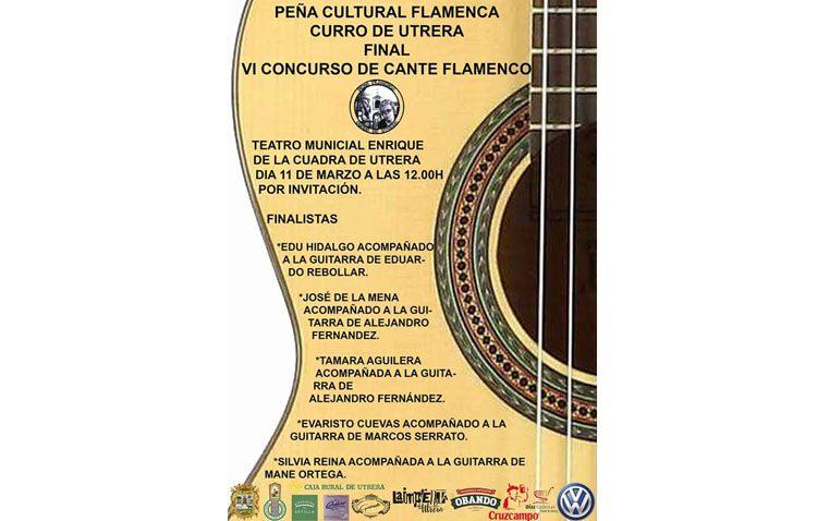 Final del concurso de cante flamenco de la peña «Curro de Utrera»